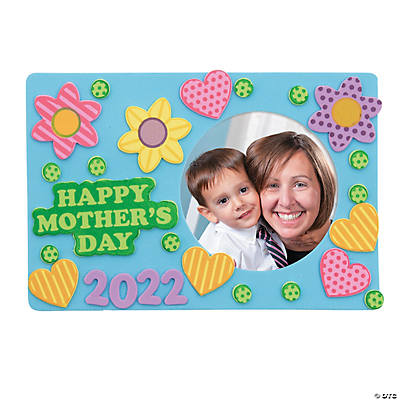 Happy mother s day picture frame magnet craft kit for Mother s day craft kits
