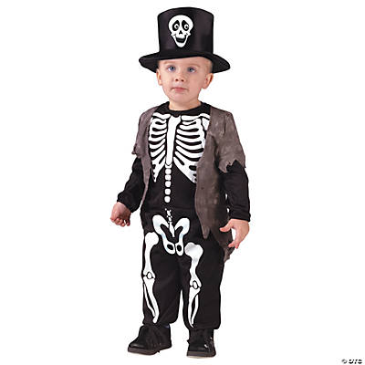 Happy Skeleton Toddler Child's Costume