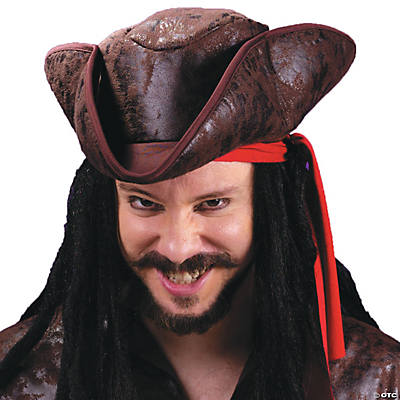 Hat Pirate Tricorn Deluxe