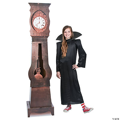 Haunted Halloween Clock Cardboard Stand-Up
