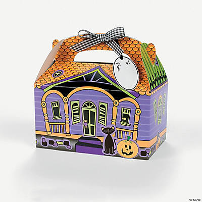 Haunted House Paper Treat Box Craft Kit