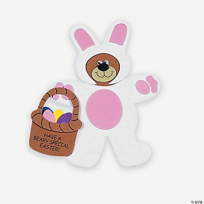 """Have A Beary Special Easter!"" Magnet Craft Kit"