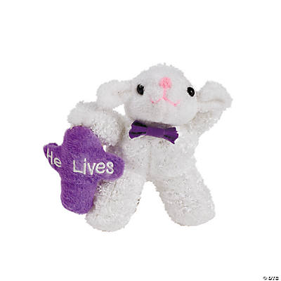 """He Lives"" Plush Lamb"