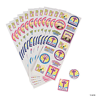 """He Lives!"" Sticker Sheets"