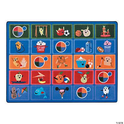healthy choices classroom rug