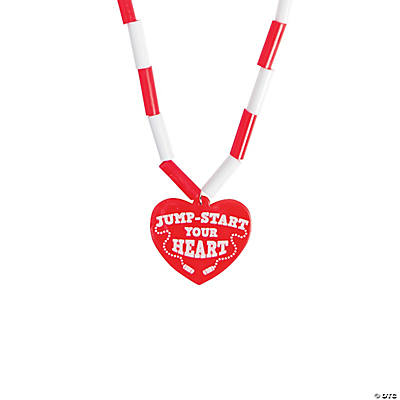 Healthy Heart Jump Rope Necklaces