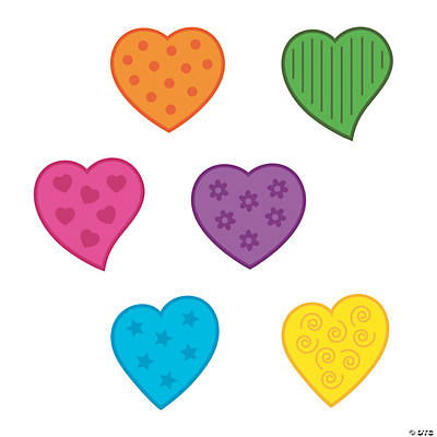 Heart bulletin board cutouts oriental trading discontinued for Heart shaped bulletin board