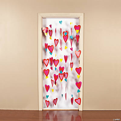 Heart Door Curtain