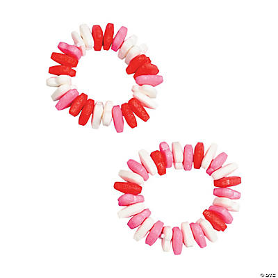Heart-Shaped Candy Bracelet Craft Kit