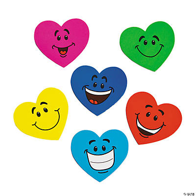 Heart Smile Face Magnets