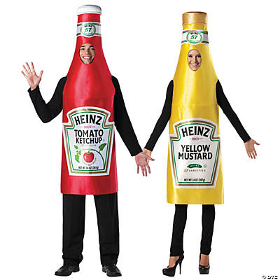 sc 1 st  Oriental Trading & Heinz Ketchup u0026 Mustard Couples Costumes
