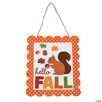 Hello Fall Sign Craft Kit
