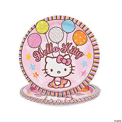 """Hello Kitty®"" Balloon Dreams Dessert Plates"