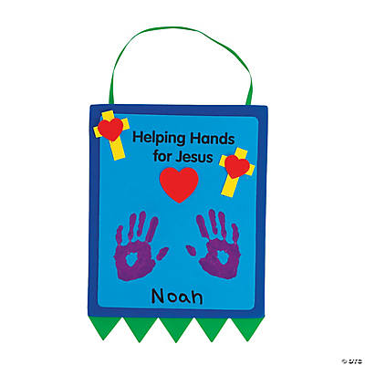 """Helping Hands For Jesus"" Keepsake Craft Kit"