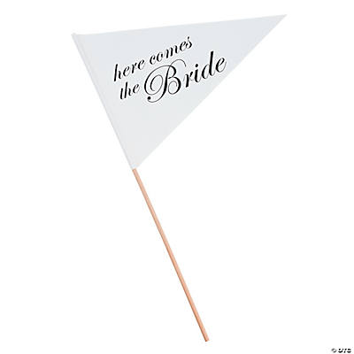 """Here Comes the Bride"" Flag"