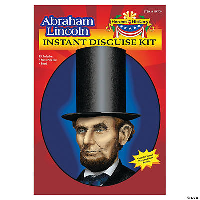 Heroes in History: Abraham Lincoln Beard & Hat
