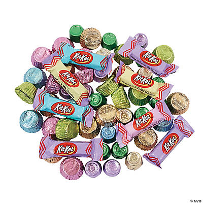 Hershey s spring chocolate candy assortment oriental for K decorations trading