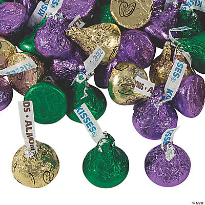 Hershey's<sup>®</sup> Mardi Gras Chocolate Candy Assortment