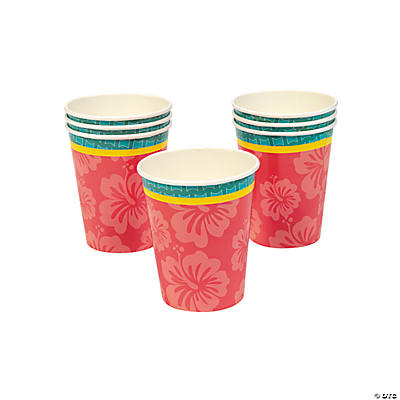 Hibiscus Wave Cups