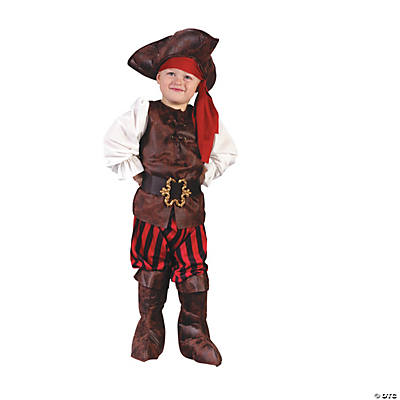 High Seas Pirate Toddler's Costume