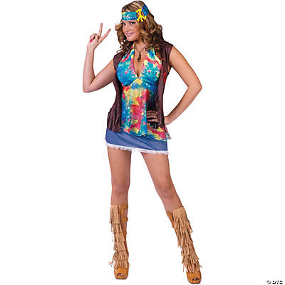 Hippie Summer Of Love Costume for Women