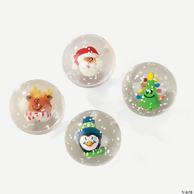 Holiday Bouncing Balls