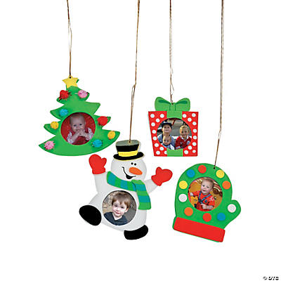 Holiday Picture Frame Ornament Craft Kit
