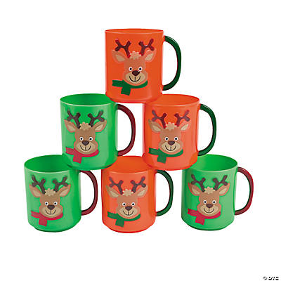 Holiday Reindeer Mugs