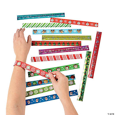 Holiday Slap Bracelet Assortment