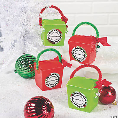 Holiday Take-Out Boxes Idea