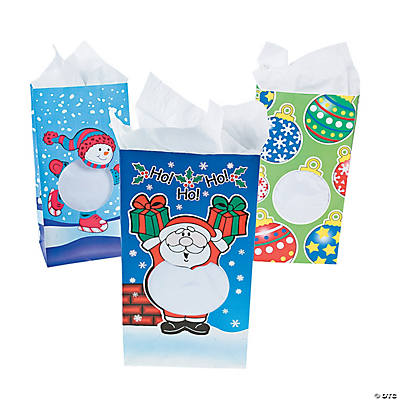 Holiday Window Loot Bags