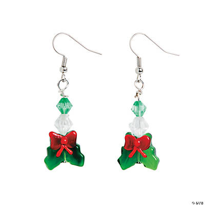 Holly Earrings Craft Kit
