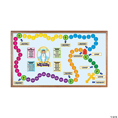 Holy Rosary Bulletin Board Set