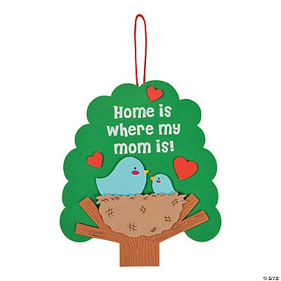 Home is where my mom is sign craft kit for Mother s day craft kits