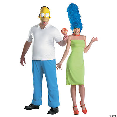 Homer & Marge Simpson Couples Costumes