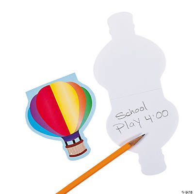 Hot Air Balloon Notepads