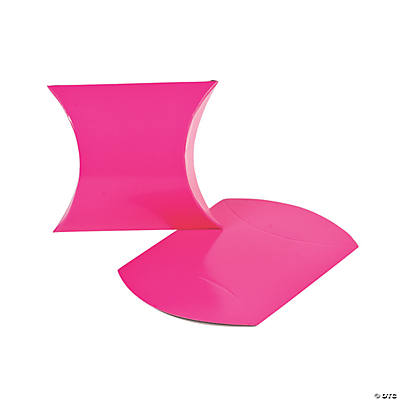 Hot Pink Pillow Boxes