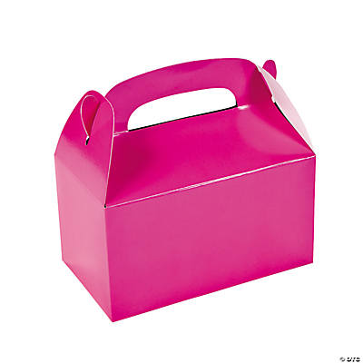 Hot Pink Treat Boxes