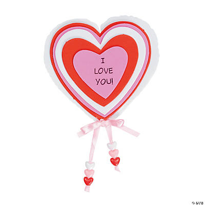 """I Love You!"" Magnet Craft Kit"
