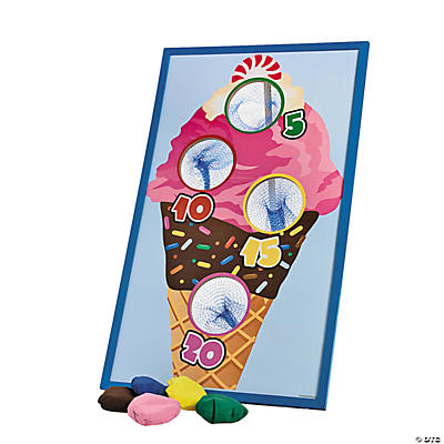Ice Cream Bean Bag Toss Game