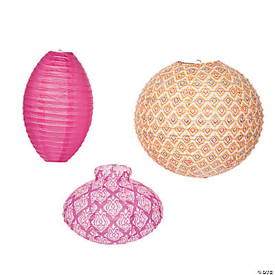 Ikat Lantern Assortment