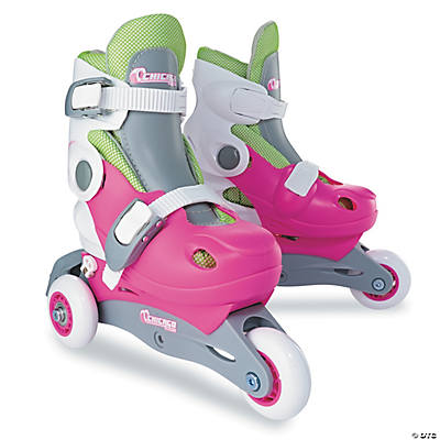 In-Line Skating Trainer Sets: Pink Size Small