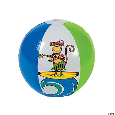 Inflatable Beach Monkey Beach Balls