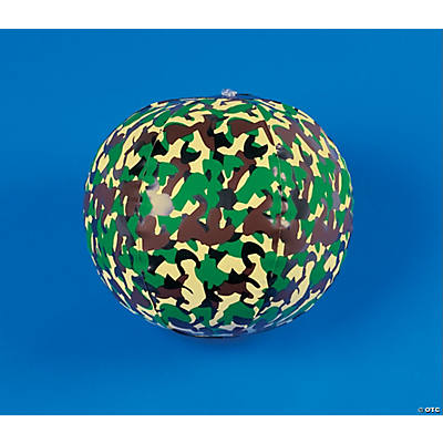Inflatable Camouflage Beach Balls