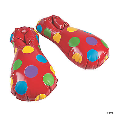 Inflatable Clown Shoes