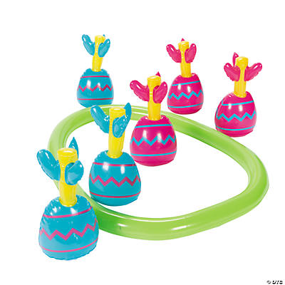 Inflatable Easter Egg Toss Game