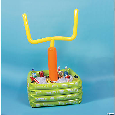 Wonderful Inflatable Football Goal Post Cooler