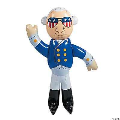 Inflatable George Washington