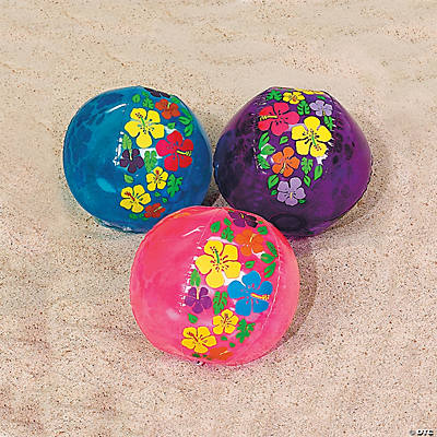 Inflatable Hibiscus Beach Balls