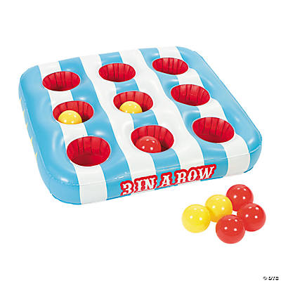 "Inflatable ""3 in A Row"" Carnival Game"